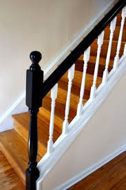 Painting A Banister White How To Update Railings And Spindles On Stairs