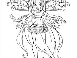 15 winx bloomix coloring pages bloom transformation bloomix