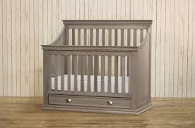 White Convertible Crib With Drawer by Comfortable And Inviting Baby Nursery Design Examples To Inspire