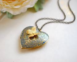 s day locket cool heart locket necklace s day gift for women