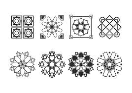 free islamic ornaments vector free vector stock