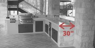 standard depth on kitchen cabinets outdoor kitchen counter what height and depth are the best