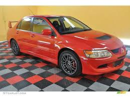 mitsubishi evolution 2005 2005 rally red mitsubishi lancer evolution mr 33673665 gtcarlot