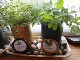 window sill herb garden gardening ideas
