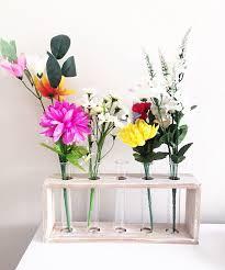 Diy Vase Decor Diy Test Tube Flower Vase Decor U2013 Under 20 U2013 Aranetajulia