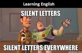 Meme Letters - english in a nutshell