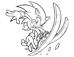 sonic fighting shadows coloring pages kids printable