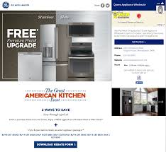 Kitchen Ads by Promoboxx Ge Appliances Campaign The Great American Kitchen Event