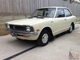 vintage toyota corolla 1974 ke20 2 door 4 speed manual classic retro vintage