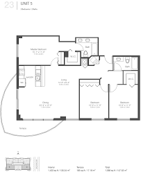 Parkland Residences Floor Plan by 23 Biscayne Bay Riteway Properties Lll Inc