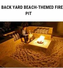Beach Fire Pit by Best 10 Beach Style Fire Pits Ideas On Pinterest Beach Style