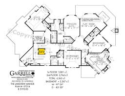 Rustic Cabin Plans Floor Plans Lakeview Manor House Plan Country Farmhouse Southern