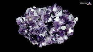 amethyst properties and meaning photos crystal information