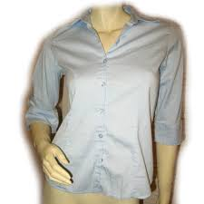 womens tops collar button down career work office wear attire