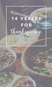 14 verses for thanksgiving simply clarke