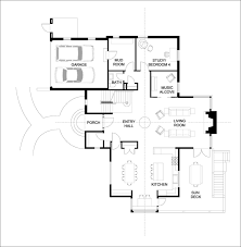 H Shaped Floor Plan Sand Point Remodel