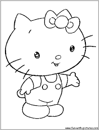 kitty coloring pages related keywords u0026 suggestions