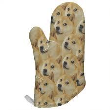 Doge Dog Meme - doge dog meme all over oven mitt oldglory com