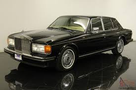 rolls royce chrome rolls royce silver spirit saloon only 41298 mile clean carfax
