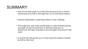 chemical hair relaxers chemical hair relaxers ppt video online