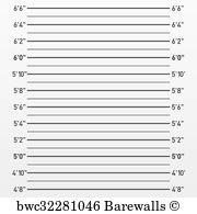 mugshot backdrop 22 mugshot height chart posters and prints barewalls