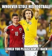 David Luiz Meme - show me who stole your football memes pinterest memes
