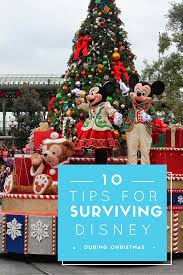 how to survive disney world during the holidays