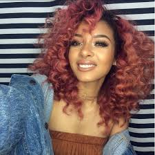 dyed weave hairstyles 236 best colored dyed hair images on pinterest burgundy hair