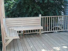 Wooden Deck Bench Plans Free by Built In Deck Benches Gallery Decks Deck With Corner Bench