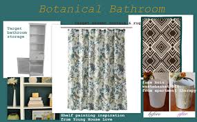 Brown And Teal Shower Curtain by Teal Brown And Gold At Home With Bethany
