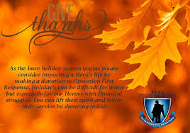 happy thanksgiving from the operation response team