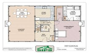 apartments open floor plan colonial traditional floor plans