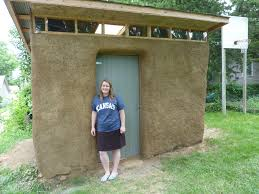 jana s straw bale shed project actively learning sustainable jana