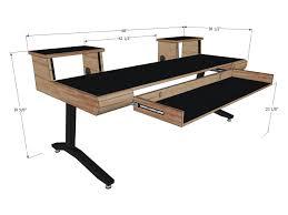 quiklok studio desk studio rta workstation dimensions diy fully custom built studio