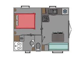 mobil home 1 chambre home trigano 20 m terrasse 1 chambre