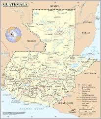 america map guatemala geography of guatemala
