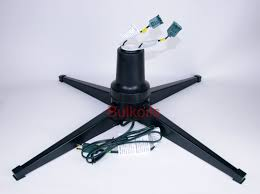 living rotating artificial tree stand