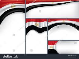 Flag Egypt Abstract Egypt Flag Egyptian Colors Vector Stock Vector 474256021