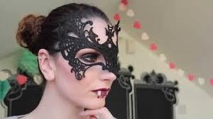 deep smokey eye halloween mask makeup wnwsq youtube