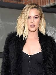 khloé kardashian debuts short lob khloé kardashian calls out bump shamers who criticized her for