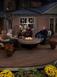 patio ideas deluxe design of patio furniture set with fire pit