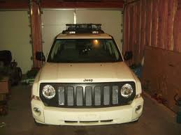 white jeep patriot 2008 painted grille flat black jeep patriot forums