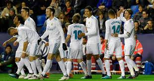 Real Madrid Levante 2 2 Real Madrid Late Goal For Levante Denies Madrid
