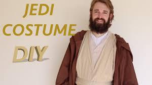 halloween jedi costume how to make a jedi costume youtube