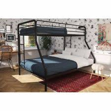 Metal Bunk Bed Ladder Metal Bunk Bed Twin Over Full Sleeping Furniture Cot Crib Ladder