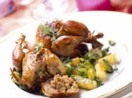 comment cuisiner les cailles cailles farcies facile recette sur cuisine actuelle