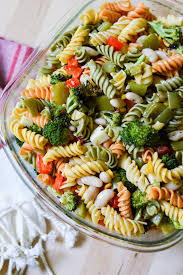 roasted veggie pasta salad home cooked happy