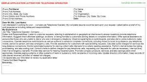 pbx operator resume telephone operator job title docs