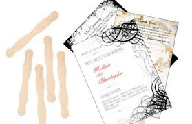 Hand Fan Wedding Programs Design Your Own Wedding Programs Outside The Box Wedding