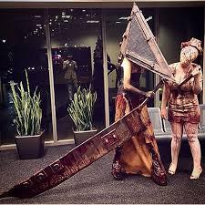 Pyramid Head Halloween Costume Morgan Durfee Nightingale Vixen Instagram Photos Videos